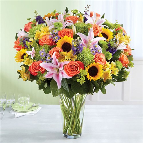 Walmart once teamed with the national flower company FTD for ordering and delivery. Some individual stores have florists, and flowers can be ordered online from Walmart's affiliate store, Sam's Club. Sam's Club is a full-scale distributor of flowers and arrangements for any occasion.